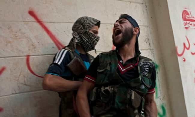 Amphetamines Keep Syrian Force... is listed (or ranked) 1 on the list 16 Terrifying Examples of Armies Hopped Up on Drugs
