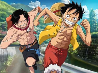 Luffy and Ace is listed (or ranked) 2 on the list The Best Brother Characters in Anime