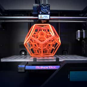 3D Printing is listed (or ranked) 5 on the list All of the Things That Were a Thing in 2015, Ranked