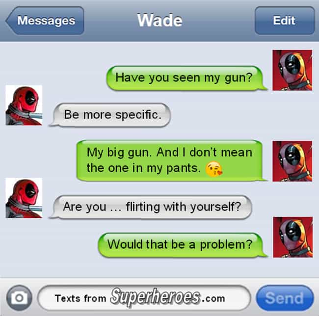 The Funniest Texts From Deadpool