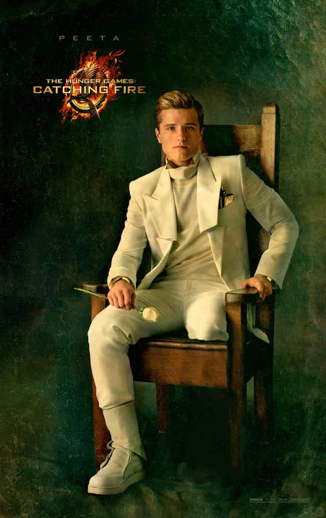 Peeta Mellark in the Books: Mi... is listed (or ranked) 2 on the list What The Hunger Games SHOULD Have Looked Like In The Movies