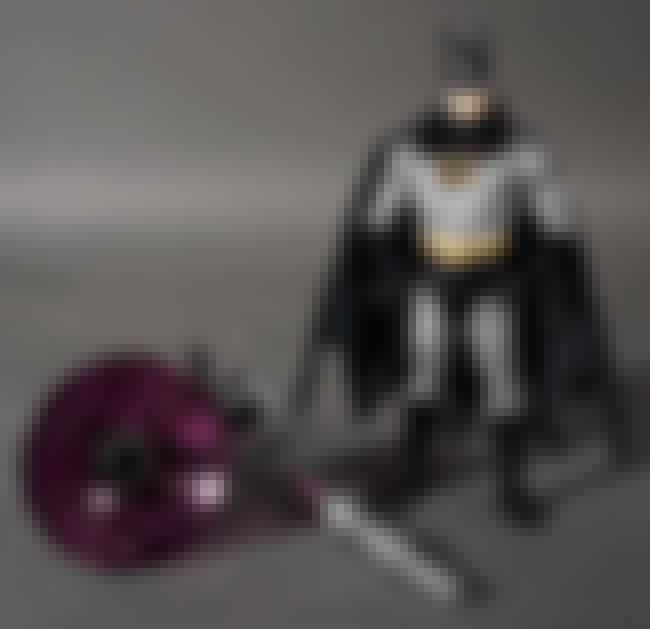 Laser Batman is listed (or ranked) 2 on the list The Dumbest Batman Action Figures Ever Produced