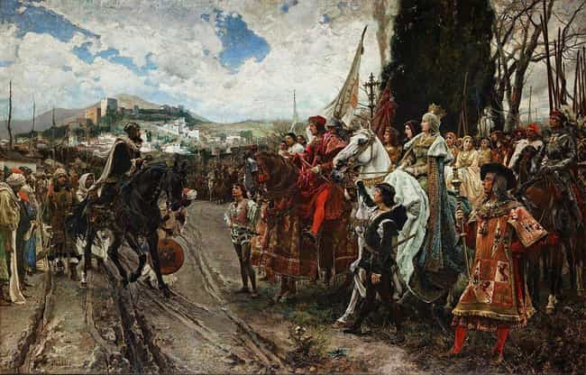 Surrender of Granada is listed (or ranked) 2 on the list The Most Famous Surrenders in History