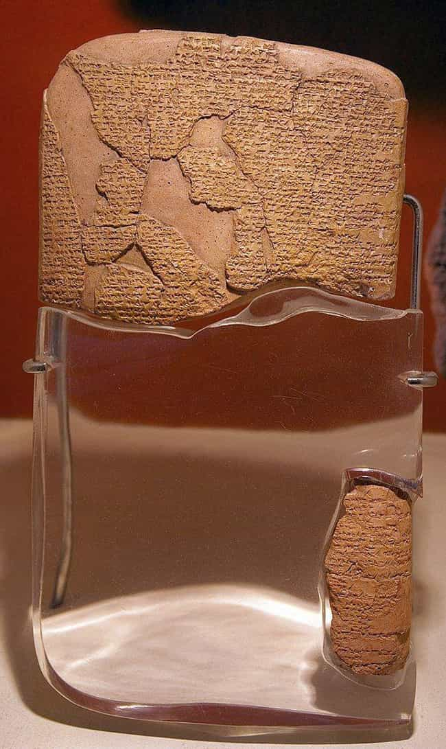 Egyptian-Hittite Peace T... is listed (or ranked) 1 on the list The Most Famous Surrenders in History
