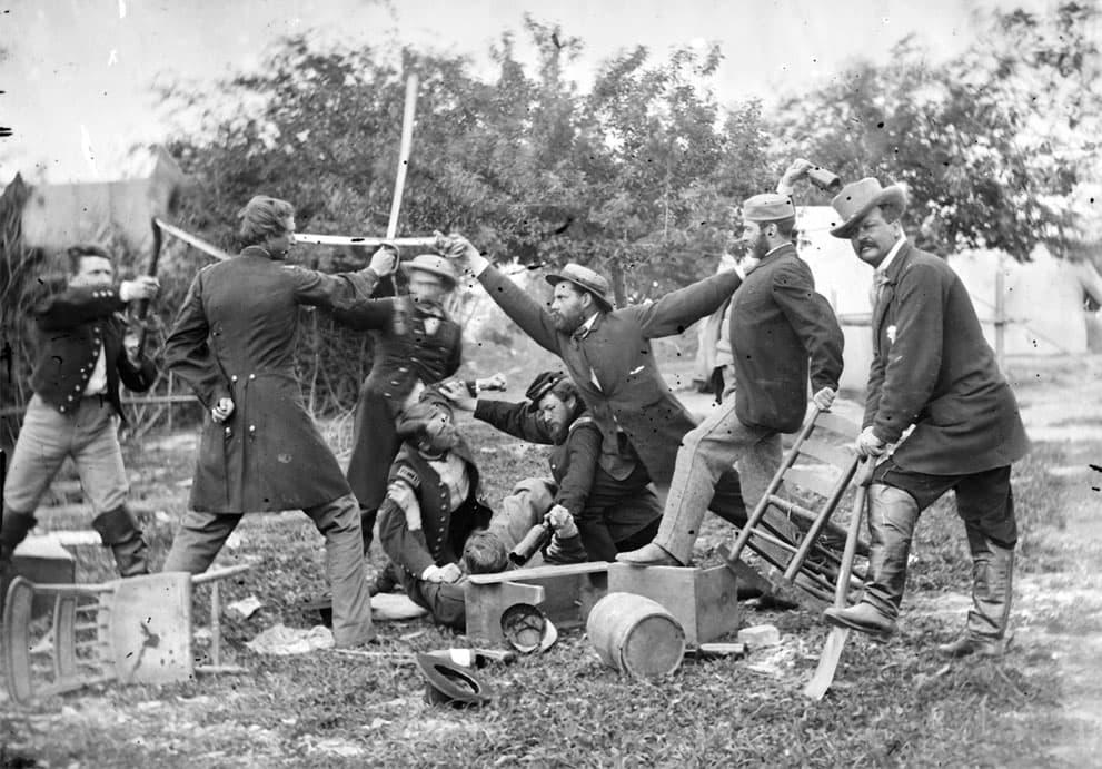 Random Vintage Photos of Off-Duty Soldiers