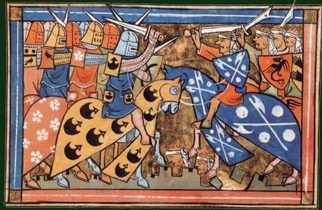 The First Crusade Went Way Bet... is listed (or ranked) 7 on the list 27 Things You Didn't Know About the Crusades