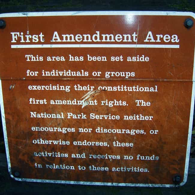 First Amendment is listed (or ranked) 1 on the list All US Constitutional Amendments and What They Do