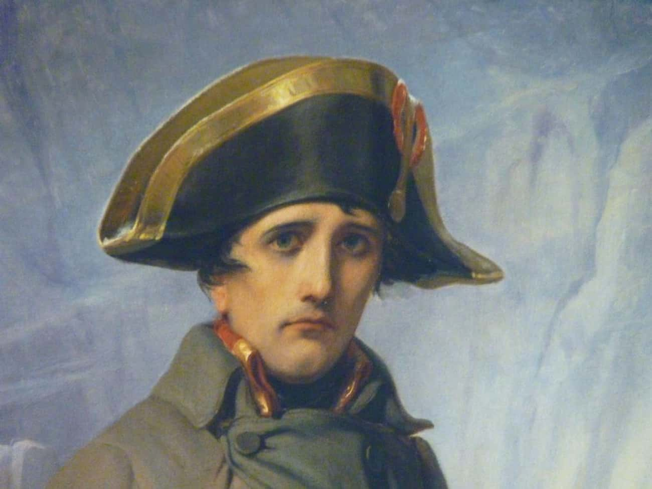 Napleon and Joséphine Had a Tu is listed (or ranked) 4 on the list 28 Things You Didn't Know About Napoleon
