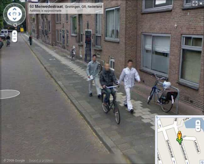 Teen Finds Bike Nabbers ... is listed (or ranked) 2 on the list Secrets Revealed by Google Maps