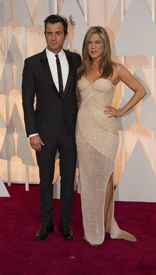 Jennifer Aniston and Justin Th... is listed (or ranked) 2 on the list Famous Couples That Began as Affairs