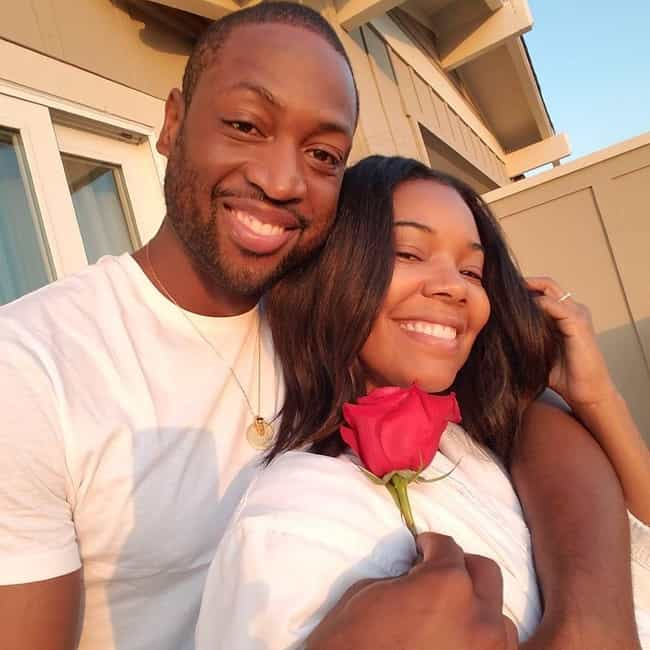Gabrielle Union and Dwyane Wad... is listed (or ranked) 4 on the list Famous Couples That Began as Affairs
