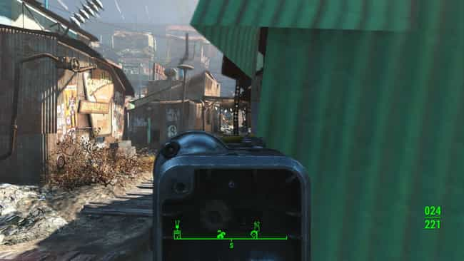 Enemies Use Cover Far Better T... is listed (or ranked) 2 on the list 16 Reasons Why Fallout 4 Hates You