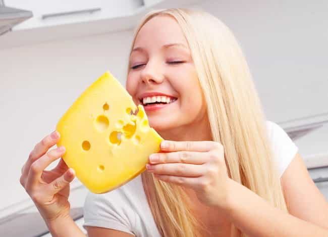 Cheese Is Good for Your Teeth is listed (or ranked) 4 on the list 30 Things You Didn't Know About Cheese