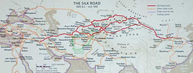 The Road Was Over 4,000 Miles ... is listed (or ranked) 4 on the list 21 Things You Might Not Know About the Silk Road