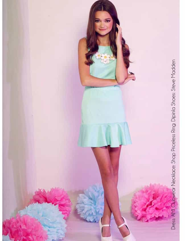 Ciara Bravo in her simple mint... is listed (or ranked) 3 on the list The Most Stunning Ciara Bravo Pics