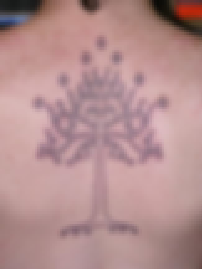 The White Tree of Gondor is listed (or ranked) 3 on the list 28 Tattoos Inspired by Lord of the Rings