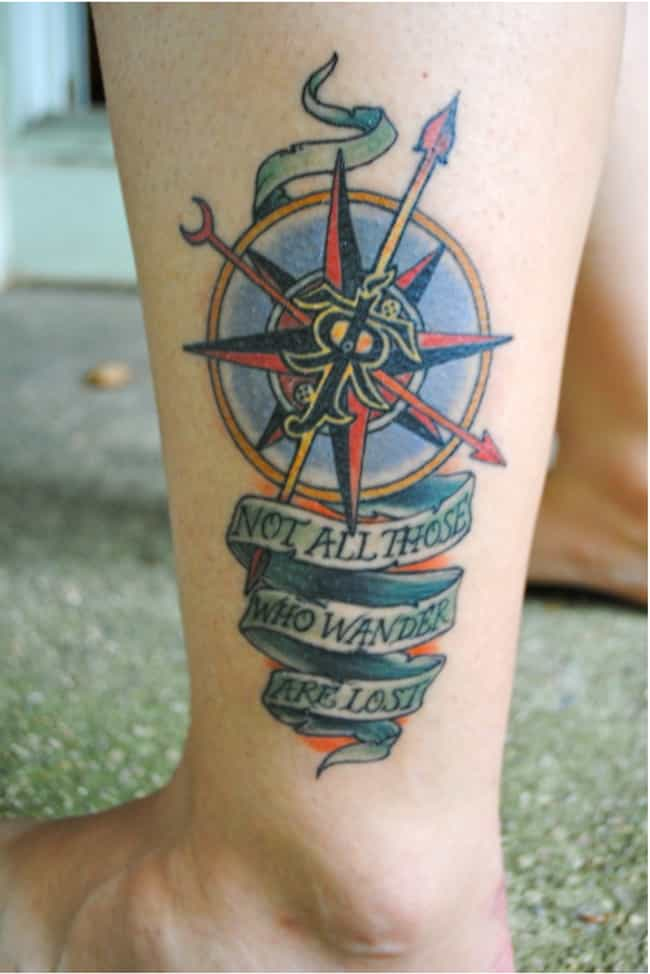28 Incredible Lord Of The Rings Tattoos Youll Geek Out Over