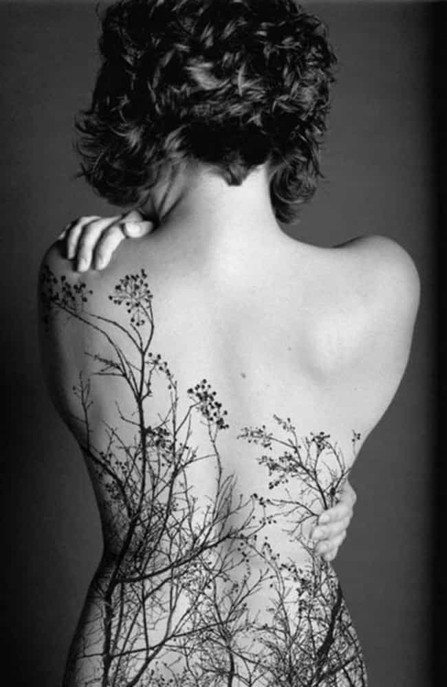 These Gorgeous Overlapping Tre... is listed (or ranked) 2 on the list 45 Amazing Nature Tattoos