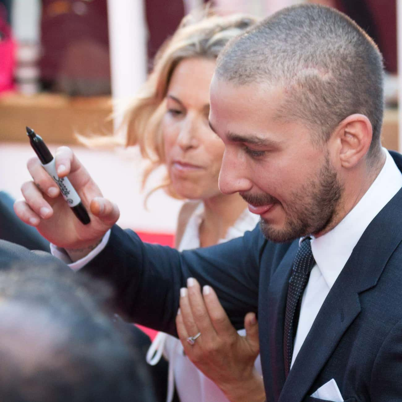 Threatens to Have Restaurant P is listed (or ranked) 3 on the list The Most Shia LaBeouf Things Shia LaBeouf Has Done
