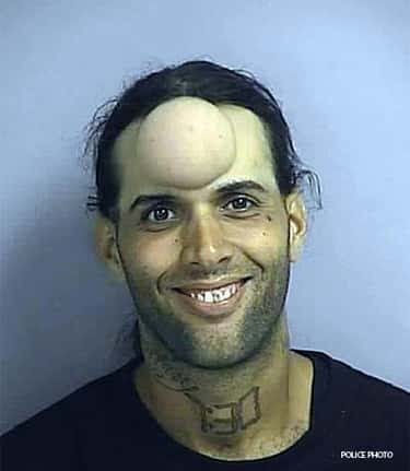 Does He Have a Concussion? is listed (or ranked) 2 on the list The Creepiest (Funny) Mugshots Ever
