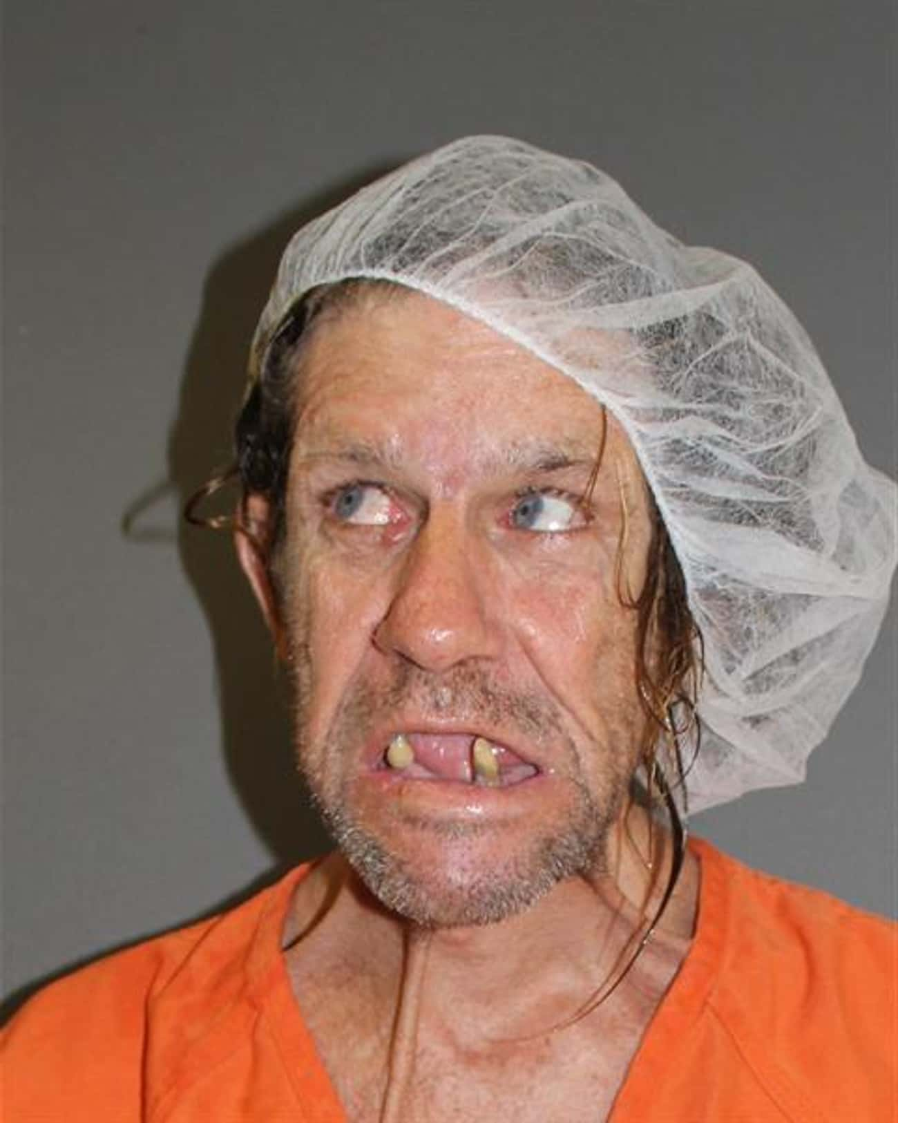 This Mugshot Is Your Anti-Drug is listed (or ranked) 1 on the list The Creepiest (Funny) Mugshots Ever
