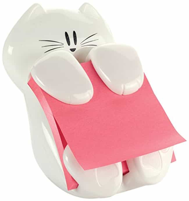 Cat Post-It Note Holder ... is listed (or ranked) 1 on the list Adorable Gifts for Cat Lovers