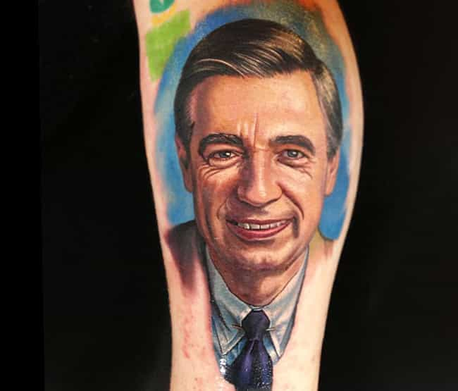 Be a Good Neighbor and Get Thi... is listed (or ranked) 2 on the list Hilarious TV Show Host Tattoos