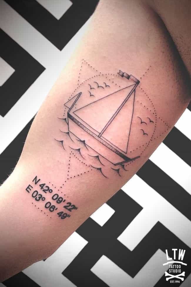 Mix and Match Numbers wi... is listed (or ranked) 3 on the list 27 of the Most Amazing Number Tattoos, Ever