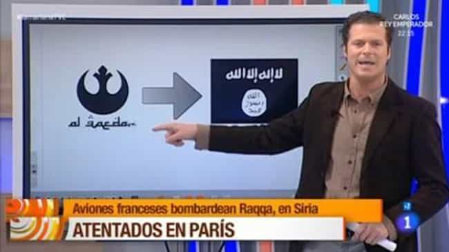La Mañana Confuses a Star Wars... is listed (or ranked) 4 on the list 19 of the Worst News Fails