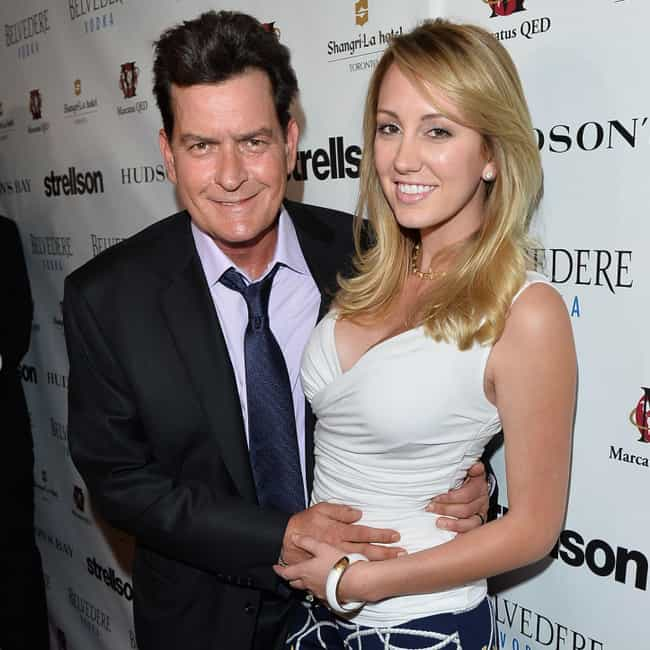 Scottine Ross is listed (or ranked) 1 on the list Everyone Charlie Sheen Has Dated
