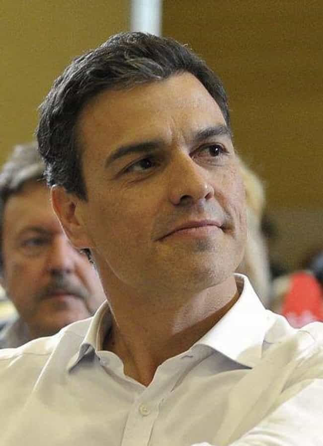 Pedro Sánchez Pérez-Castejón, ... is listed (or ranked) 8 on the list The Hottest Male World Leaders