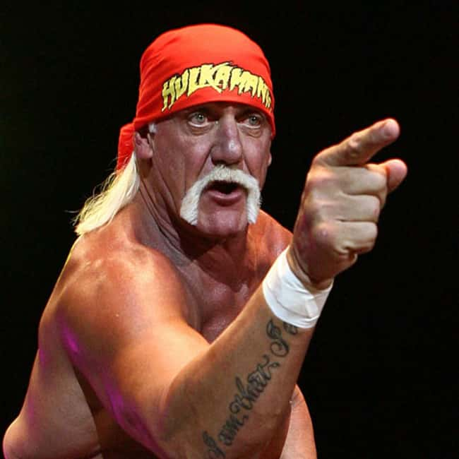 Hulk Hogan's Shocking Racist R is listed (or ranked) 7 on the list 17 Times the National Enquirer Broke Real News