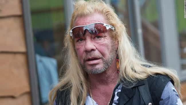 Dog the Bounty Hunter's Of is listed (or ranked) 11 on the list 17 Times the National Enquirer Broke Real News