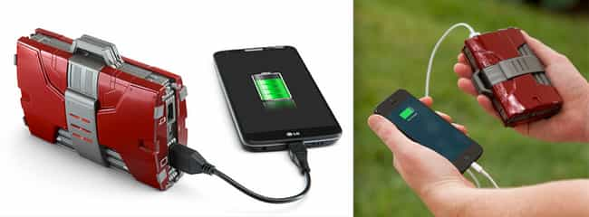 Iron Man External Charge... is listed (or ranked) 2 on the list 20 Great Superhero Gift Ideas for the Demanding Fan