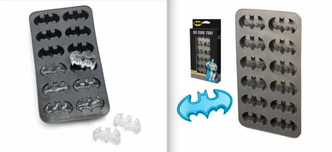 Bat-Cube Tray is listed (or ranked) 3 on the list 20 Great Superhero Gift Ideas for the Demanding Fan