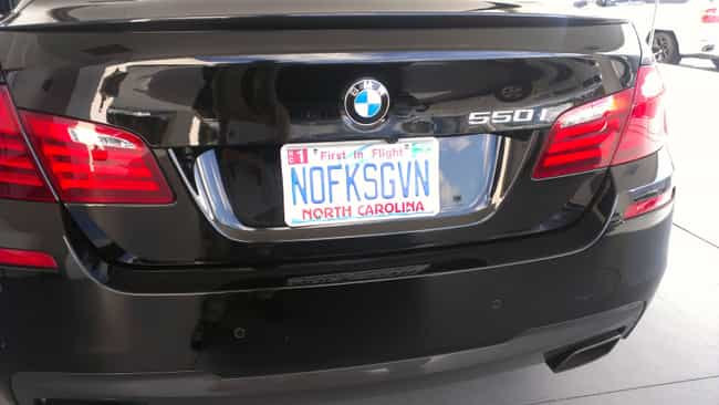 We Also Know What It's L... is listed (or ranked) 2 on the list License Plates You Can't Believe Got Past the DMV Screeners