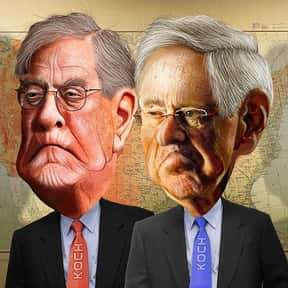 Charles and David Koch is listed (or ranked) 18 on the list Who Should Be TIME Magazine's Person of the Year 2015?