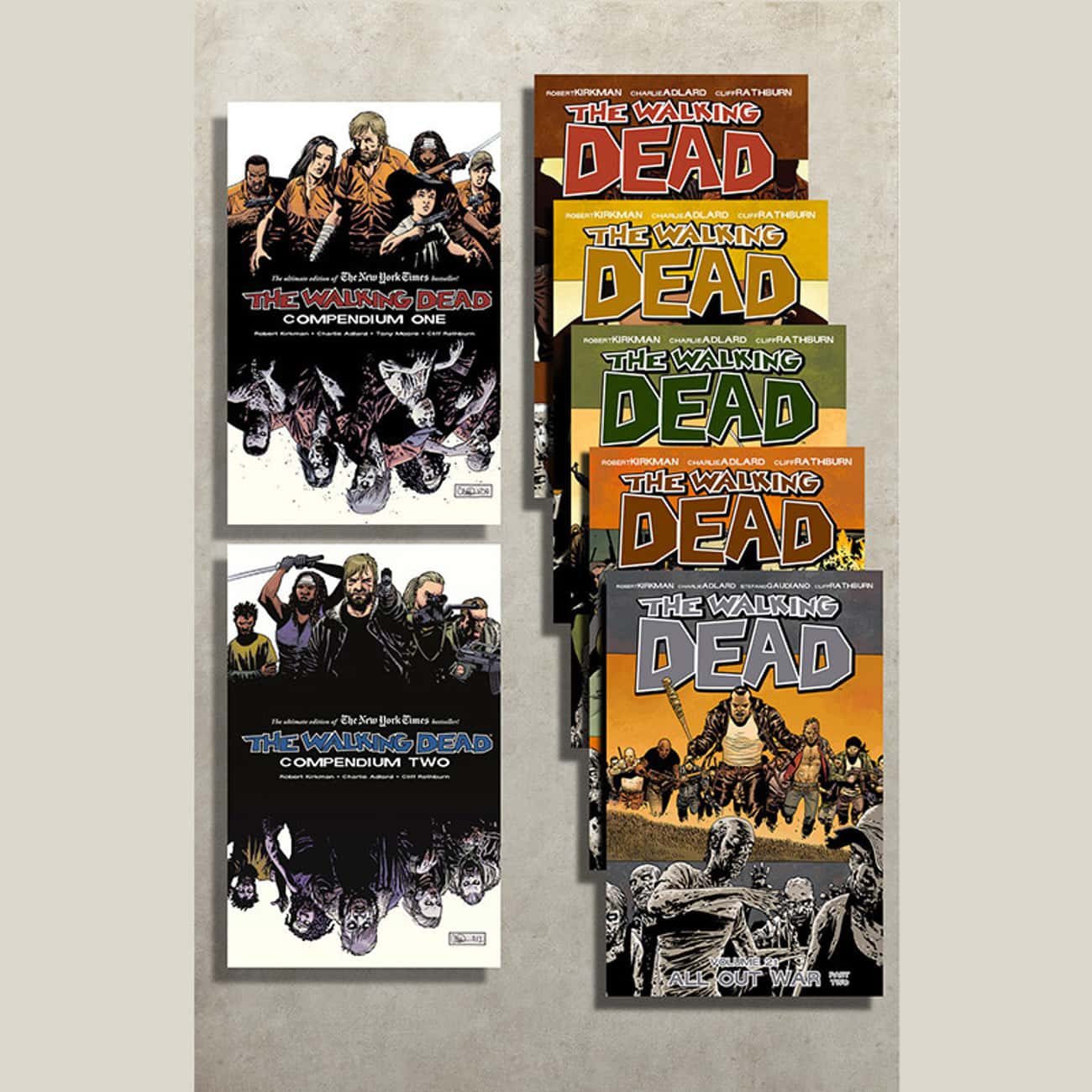 The Walking Dead Graphic Novel is listed (or ranked) 1 on the list Perfect Gifts for Walking Dead Fans