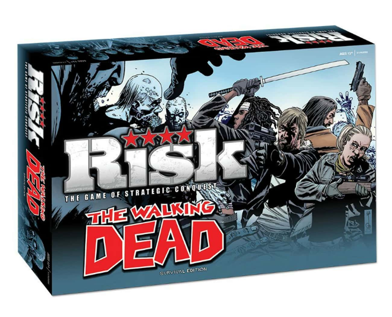 The Walking Dead Risk: Surviva is listed (or ranked) 2 on the list Perfect Gifts for Walking Dead Fans