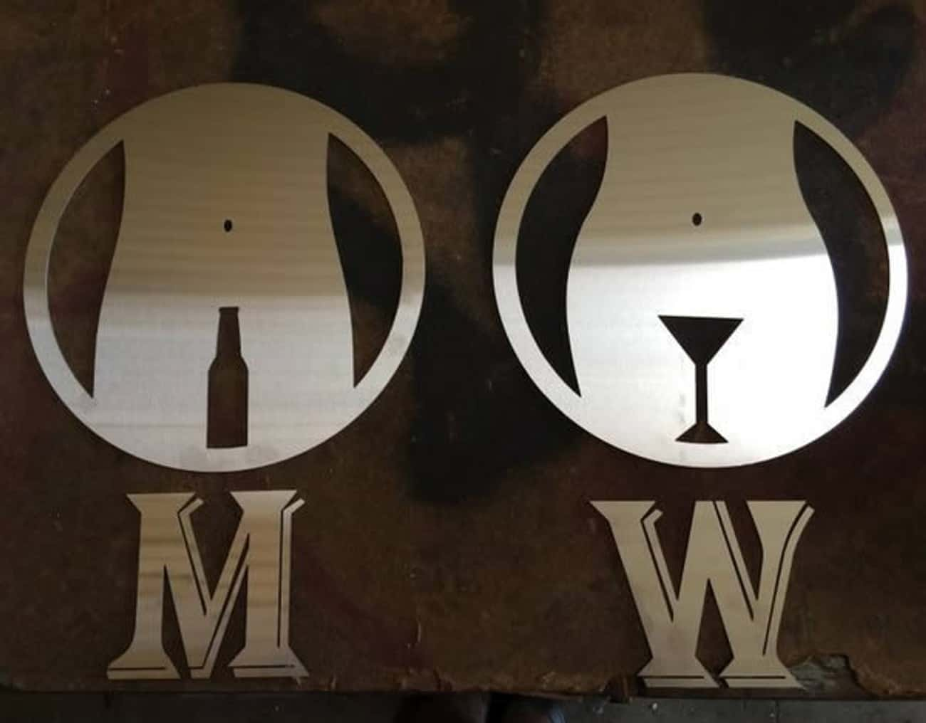 This Clever Sign May Explain Why Men Love Beer and Women Love Cosmos