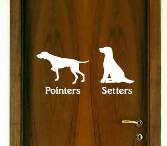 These Clever Signs for P... is listed (or ranked) 5 on the list 43 Bathroom Signs That Will Really Make You Think... and LOL