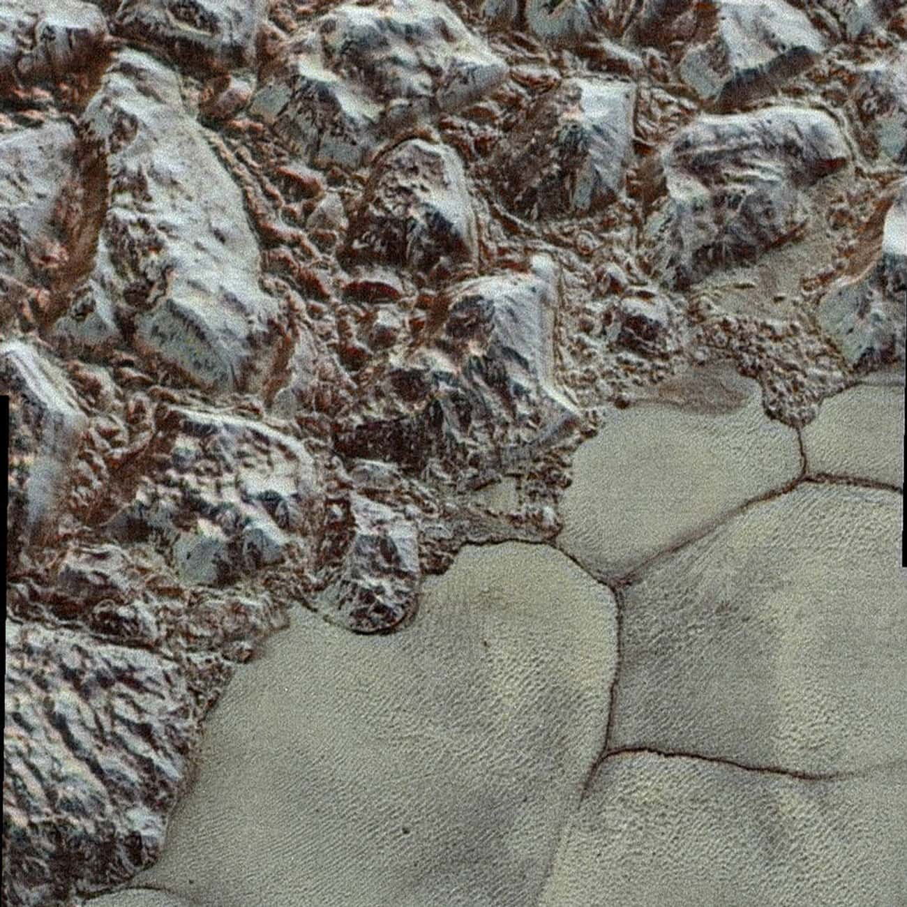 Incredibly, Pluto Is Still Evo is listed (or ranked) 3 on the list Cool Discoveries from the New Horizons Space Probe