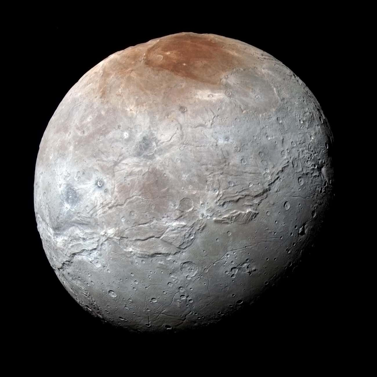 Pluto's Largest Moon May O is listed (or ranked) 2 on the list Cool Discoveries from the New Horizons Space Probe