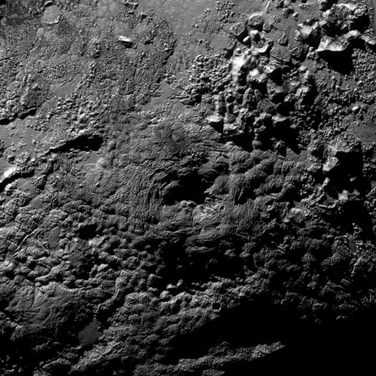 Pluto May Have Erupting Ice Vo is listed (or ranked) 4 on the list Cool Discoveries from the New Horizons Space Probe