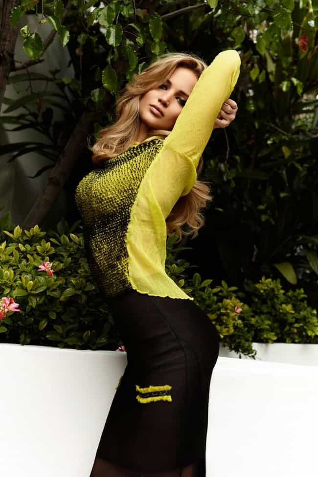 You can't strike a pose like t... is listed (or ranked) 4 on the list The Most Beautiful Jennifer Lawrence Pictures