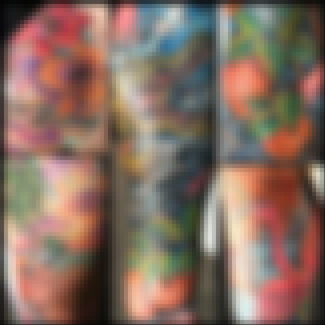 This Beautifully Colored Flori... is listed (or ranked) 2 on the list 28 Amazing Florida Tattoos