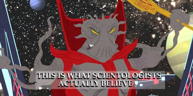 """This is what Scientologis... is listed (or ranked) 1 on the list 18 Weirdly Educational South Park Episodes"
