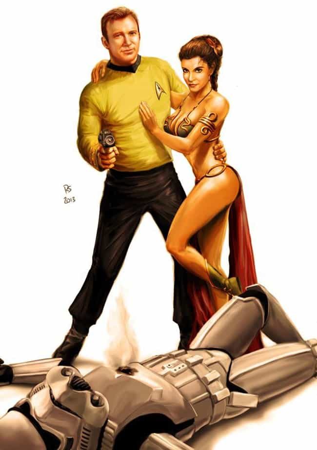 My Hero (Part 1) is listed (or ranked) 4 on the list The Most Awesome Star Wars/Star Trek Crossover Fan Art