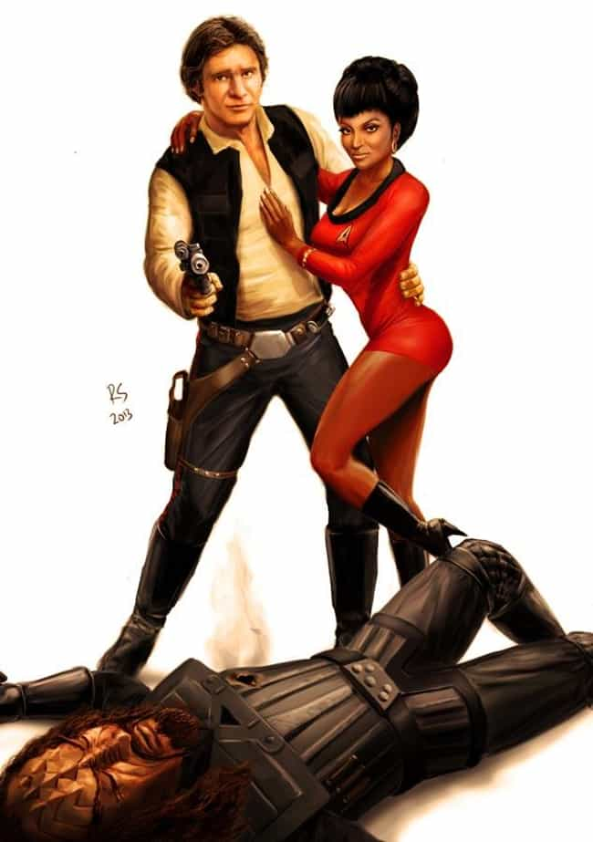 My Hero (Part 2) is listed (or ranked) 3 on the list The Most Awesome Star Wars/Star Trek Crossover Fan Art
