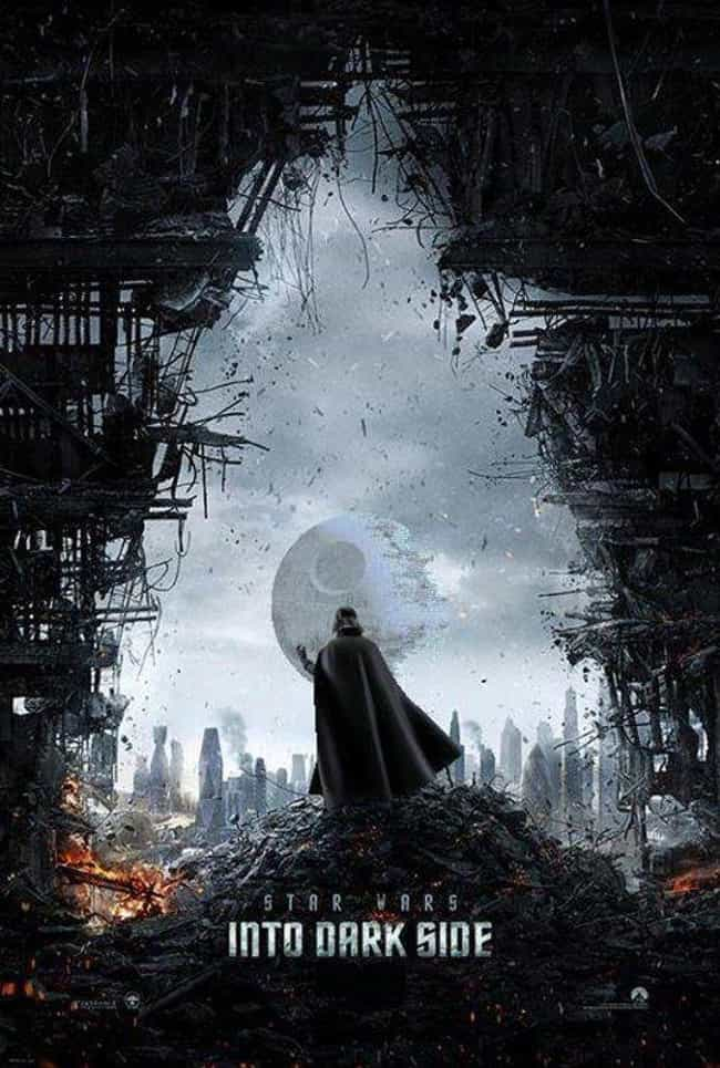 Star Wars Into Darkness ... is listed (or ranked) 2 on the list The Most Awesome Star Wars/Star Trek Crossover Fan Art